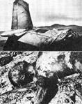 墜落したトライデント機と林彪の遺体
